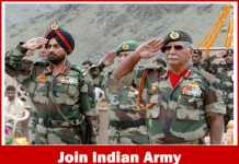 Join Indian Army Recruitment 2017