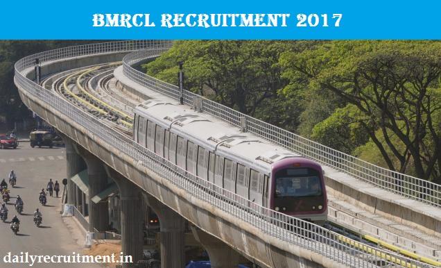 BMRCL Recruitment 2017