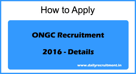 Ongc-recruitment-details-2016