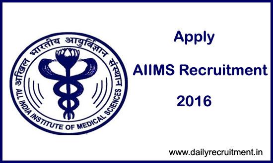 latest-aiims-recruitment-20167