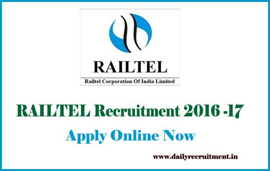 railtel-vacancy-2016