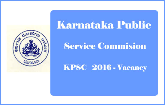 karnataka-psc-vacancy-2016