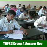 Download TNPSC group 4 Answer Key 2016 Pdf With Cut off Mark