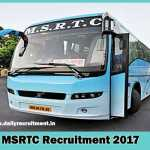 MSRTC Recruitment 2017-14247 Driver Vacancy to Apply at www.msrtc.gov.in