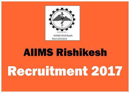 AIIMS-Rishikesh-Recruitment