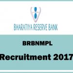 BRBNMPL Recruitment 2017, 407 Asst. Manager & Workman Posts, Apply online @ www.brbnmpl.co.in