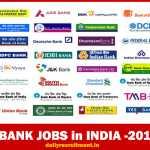 Bank Jobs 2017 Notifications -2698 Job Vacancies Available-Latest Bank Jobs in India