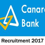 Canara Bank Recruitment 2017, 20 Clerk & Officer posts, apply @ www.canarabank.com