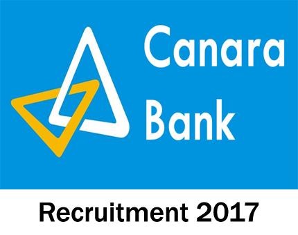 Canara-recruitment-2017-18