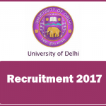 Delhi University Recruitment 2017 -Assistant Professor 378 Vacancies Apply Online @ work.du.ac.in