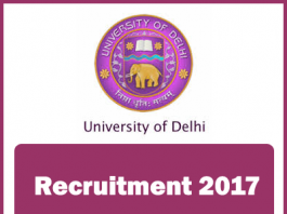 DELHI-UNIVERSITY-RECRUITMENT