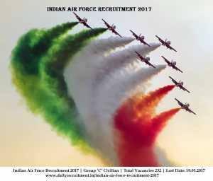 Indian Air Force Recruitment 2017
