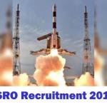 ISRO Recruitment 2017, 87 Scientist/Engineer posts, apply online @ www.isro.gov.in