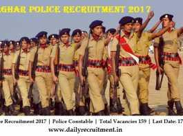 Palghar Police Recruitment 2017