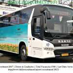 Rajasthan RSRTC Recruitment 2017, 1700 Driver & Conductor, Apply Online@rsrtc.rajasthan.gov.in