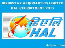 HAL Recruitment 2017