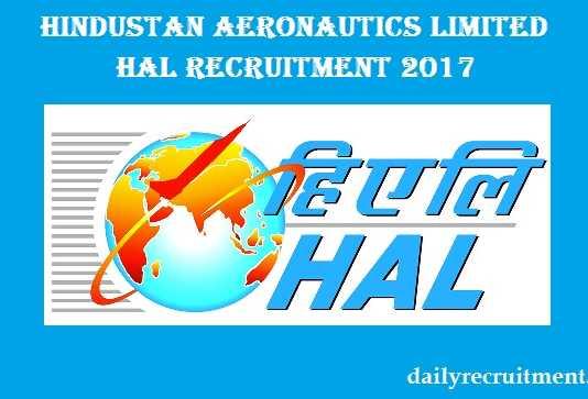 HAL Recruitment 2017