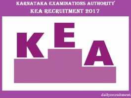 KEA Recruitment 2017