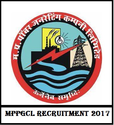 MPPGCL Recruitment 2017