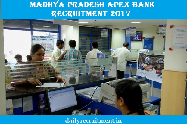 Madhya Pradesh Apex Bank Recruitment 2017