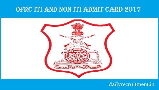 OFRC Admit Card