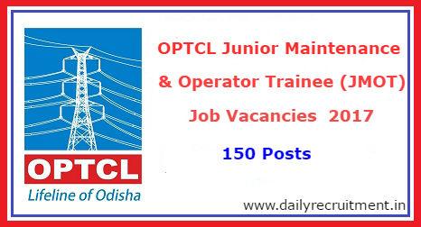 OPTCL Recruitment 2017