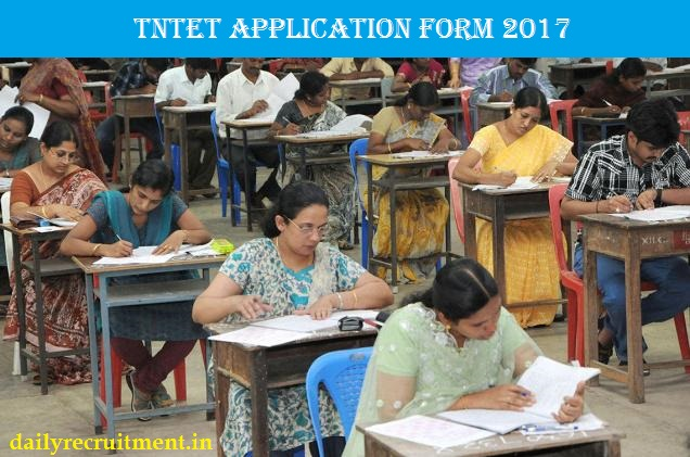 TNTET Application Form 2017