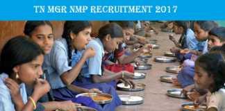 TN MGR NMP Recruitment