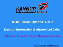 KIAL Recruitment 2017