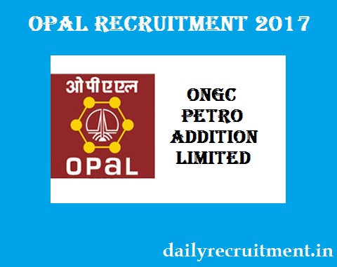 OPaL Recruitment 2017
