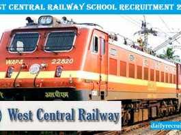 West Central Railway Recruitment 2017