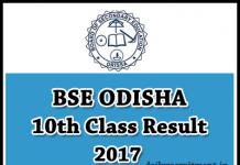 Odisha HSC & Madhyama Results 2017