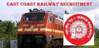 East Coast Railway Recruitment 2017