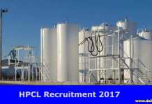 HPCL Recruitment 2017-18
