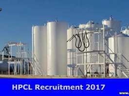 HPCL Recruitment 2017-18