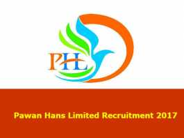 Pawan Hans Limited Recruitment 2017