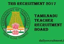 TRB Recruitment 2017