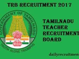 TRB Recruitment 2017