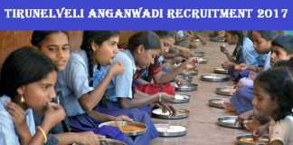 Tirunelveli Anganwadi Recruitment 2017