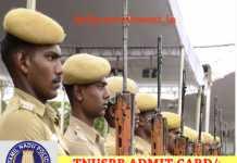 TN Police Hall Ticket 2017