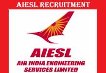 AIESL Recruitment 2017