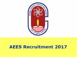 AEES Recruitment 2017