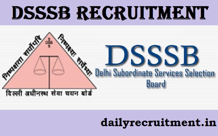 Dsssb online last date