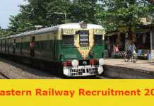 Eastern Railway Recruitment 2017