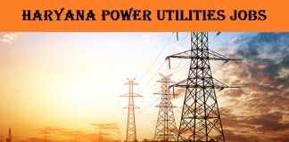 Haryana Power Utilities Recruitment 2017