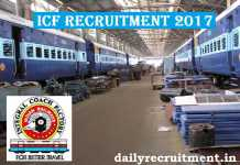 ICF Recruitment 2017