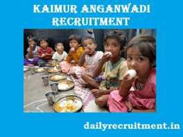Kaimur Anganwadi Recruitment 2017