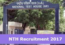 NTH Recruitment 2017