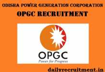 OPGC Recruitment 2017