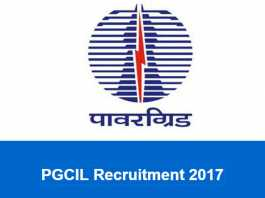 PGCIL Recruitment 2017